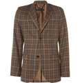 Marc by Marc Jacobs Eduard Slim-Fit Plaid Wool Blazer