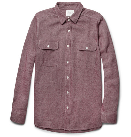 Saturdays Surf NYC Angus Cotton-Flannel Shirt