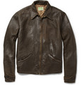 Levi's Vintage Clothing - 1930s Distressed-Leather Jacket