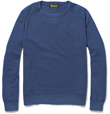Levi's Vintage Clothing 1950s Overdyed Cotton-Jersey Sweatshirt