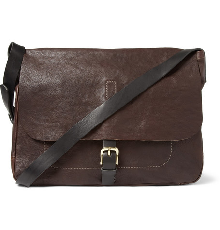 Ally Capellino Justin Leather Messenger Bag