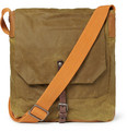 Ally Capellino Jonathan Waxed-Cotton Messenger Bag