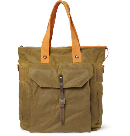 Ally Capellino Timothy Waxed-Cotton Tote Bag