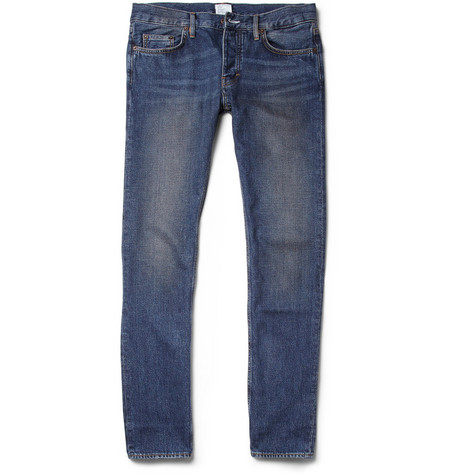 Jean.Machine J.M-1 Slim-Fit Washed Slub Denim Jeans