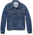 Jean.Machine J.M-4 Washed-Denim Jacket