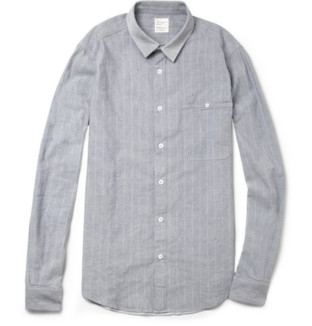 Jean.Machine City Cotton and Linen-Blend Shirt