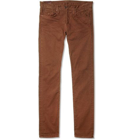 J Brand Tyler Slim-Fit Cotton Jeans