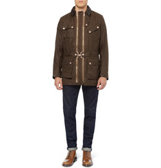 Private White V.C. Waxed-Cotton Field Jacket