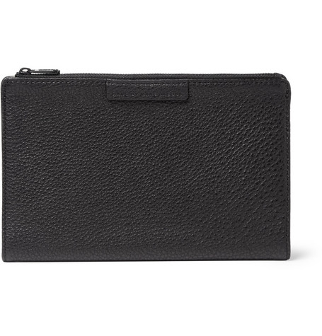 Marc by Marc Jacobs Full-Grain Leather Travel Wallet