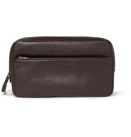 Marc by Marc Jacobs Werdie Leather Wash Bag