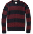 Edwin Striped Wool-Blend Sweater