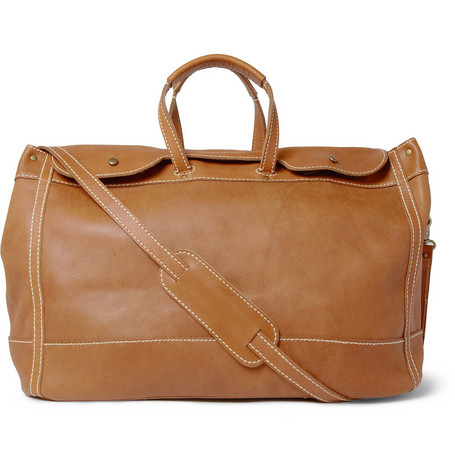 Jean Shop Signature Leather Weekend Holdall Bag