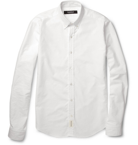 Bespoken Slim-Fit Cotton Oxford Shirt