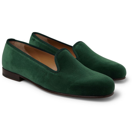 Stubbs & Wootton Velvet Slippers