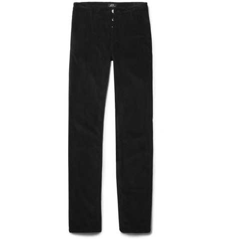 A.P.C. Slim-Fit Corduroy Trousers
