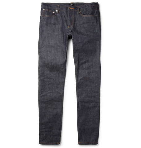 A.P.C. Petit New Standard Slim-Fit Raw Selvedge Jeans