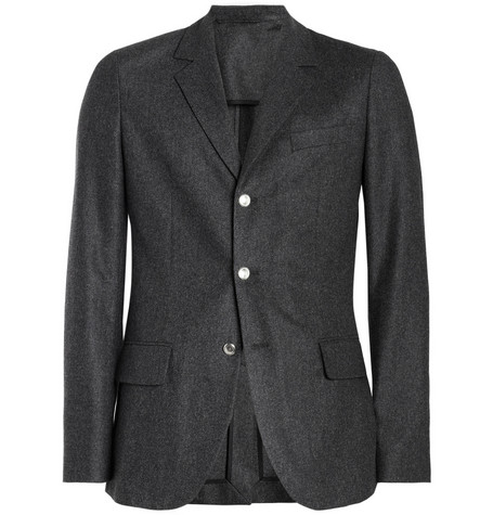 A.P.C. Wool-Flannel Suit Jacket