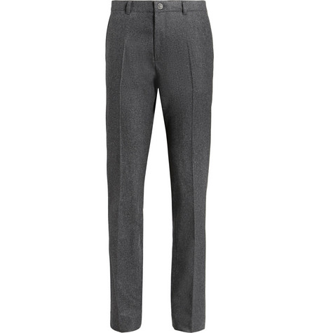 A.P.C. Wool-Flannel Slim-Fit Suit Trousers