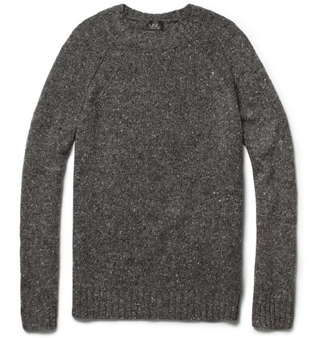 A.P.C. Merino Wool-Blend Crew Neck Sweater