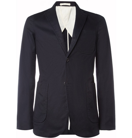 Beams Plus Unstructured Slim-Fit Cotton-Twill Blazer