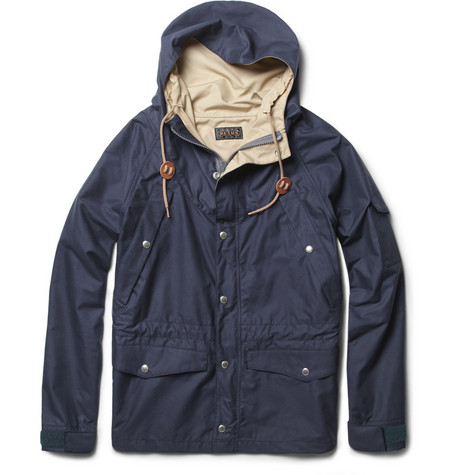 Beams Plus Lightweight Cotton-Blend Parka Jacket