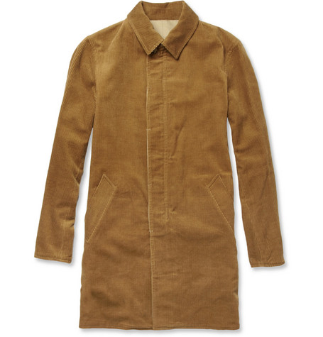 Beams Plus Reversible Corduroy and Twill Coat