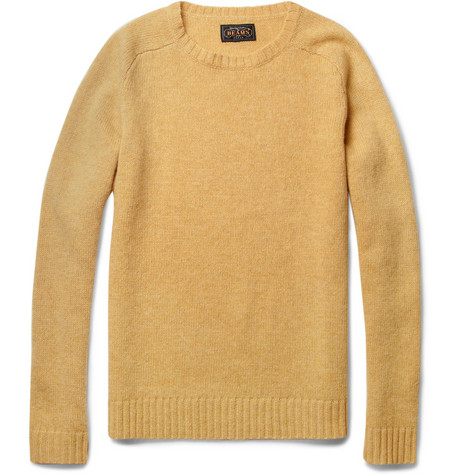 Beams Plus Wool Crew Neck Sweater