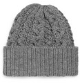 Beams Plus - Cable-Knit Wool Beanie Hat