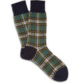 Beams Plus Plaid Socks