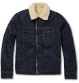 Levi's Vintage Clothing - Slim-Fit Denim and Faux Shearling Jacket