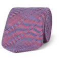 Charvet - Herringbone Silk and Wool-Blend Tie
