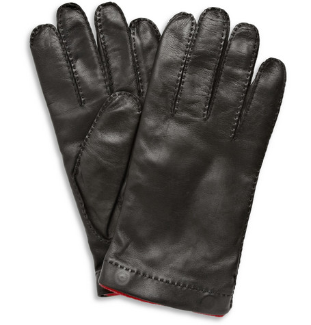 Merola Gloves Leather and Cashmere Gloves