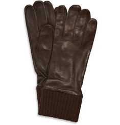 Merola Gloves Silk-Lined Leather and Wool Gloves