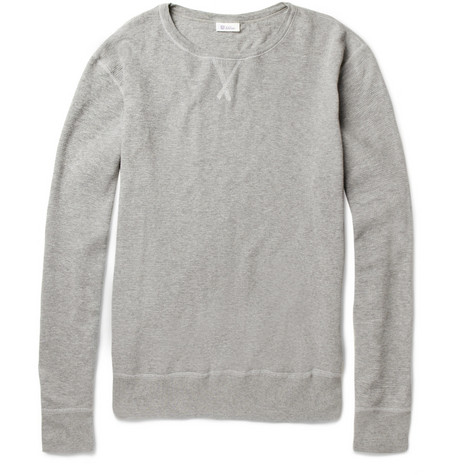 Schiesser Long-Sleeved Waffle-Knit Cotton T-Shirt