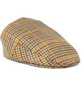 Lock & Co Hatters - Houndstooth Cashmere Flat Cap