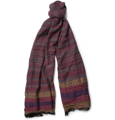 Missoni Textured Cotton-Blend Scarf