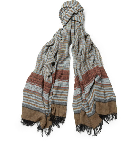 Missoni Striped Cotton-Blend Scarf
