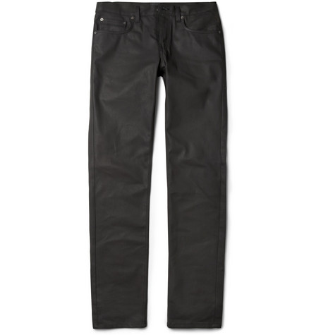 Belstaff Earlham Coated Slim-Fit Jeans