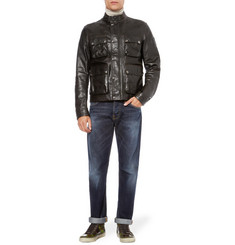 Belstaff Brad Washed-Leather Jacket