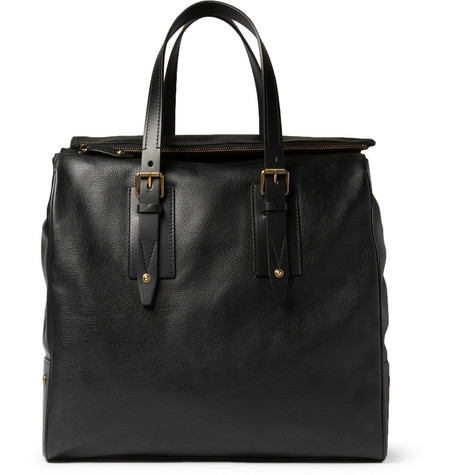 Belstaff Dorchester Leather Tote Bag