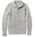S.N.S. Herning - Stark Chunky Waffle-Knit Wool Cardigan