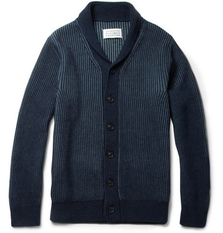 Maison Martin Margiela Ribbed Wool Cardigan