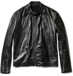 Maison Martin Margiela Distressed Leather Jacket