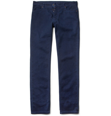Maison Martin Margiela Slim-Fit Overdyed Cotton Jeans