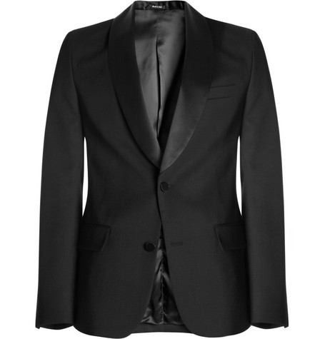 Maison Martin Margiela Slim-Fit Satin-Trimmed Tuxedo Jacket