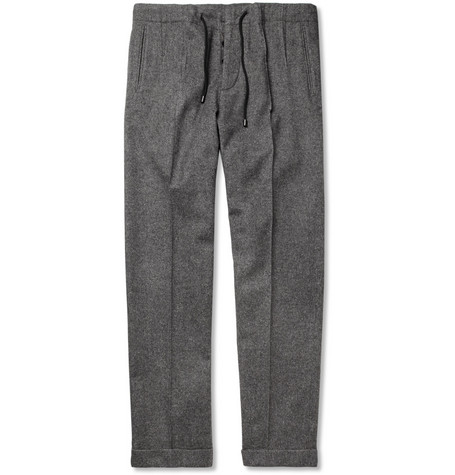 Maison Martin Margiela Brushed Wool-Blend Trousers
