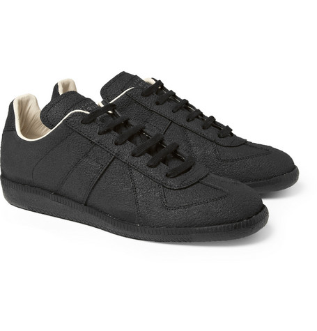 Maison Martin Margiela Leather-Lined Rubber Sneakers