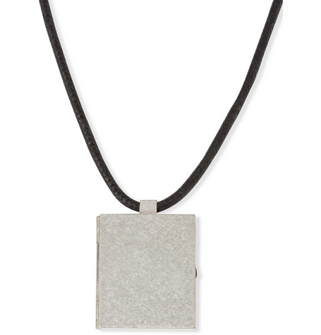 Maison Martin Margiela Metal Pendent Necklace