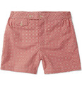 Chucs - Long-Length Printed Swim Shorts