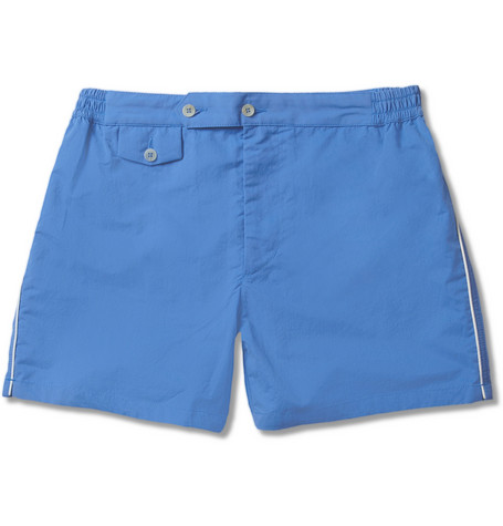 Chucs Short-Length Swim Shorts